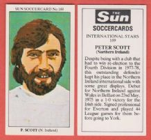 Northern Ireland Peter Scott York City